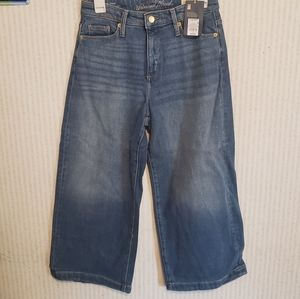 Highest Rise Wide Leg Short 6/28S Jeans